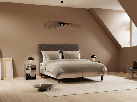Carpe Diem Beds Koster Light Grey