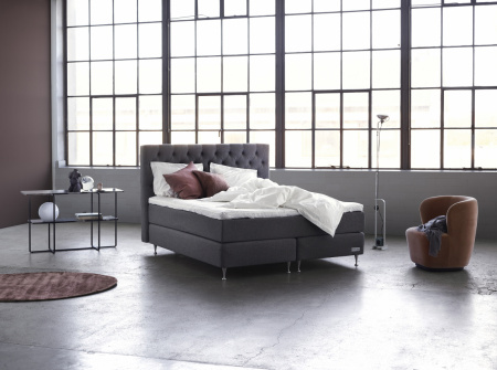 Carpe Diem Beds Sandö Light Grey