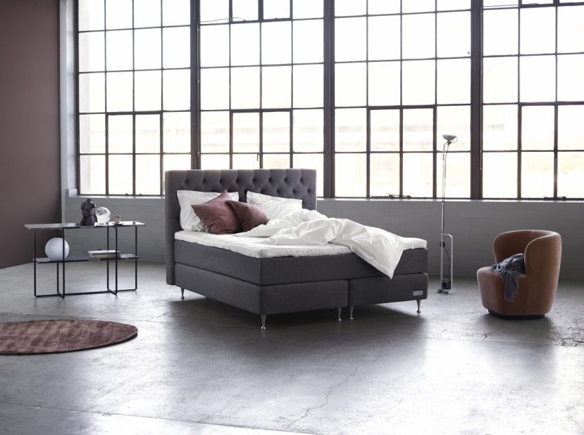 Carpe Diem Beds Sandö Kontinentalsäng Luxury Dark Grey