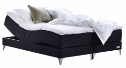 Carpe Diem Beds Marstrand Black 105x210 cm