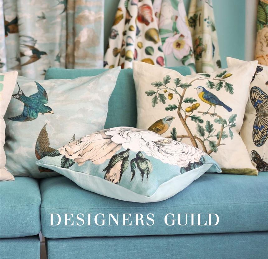 Hitta Designers Guild på Sängvaruhuset Elgen