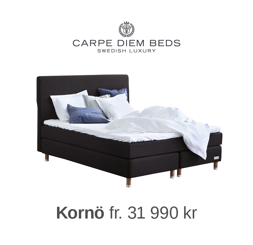 Carpe Diem Beds Kornö på Sängvaruhuset Elgen