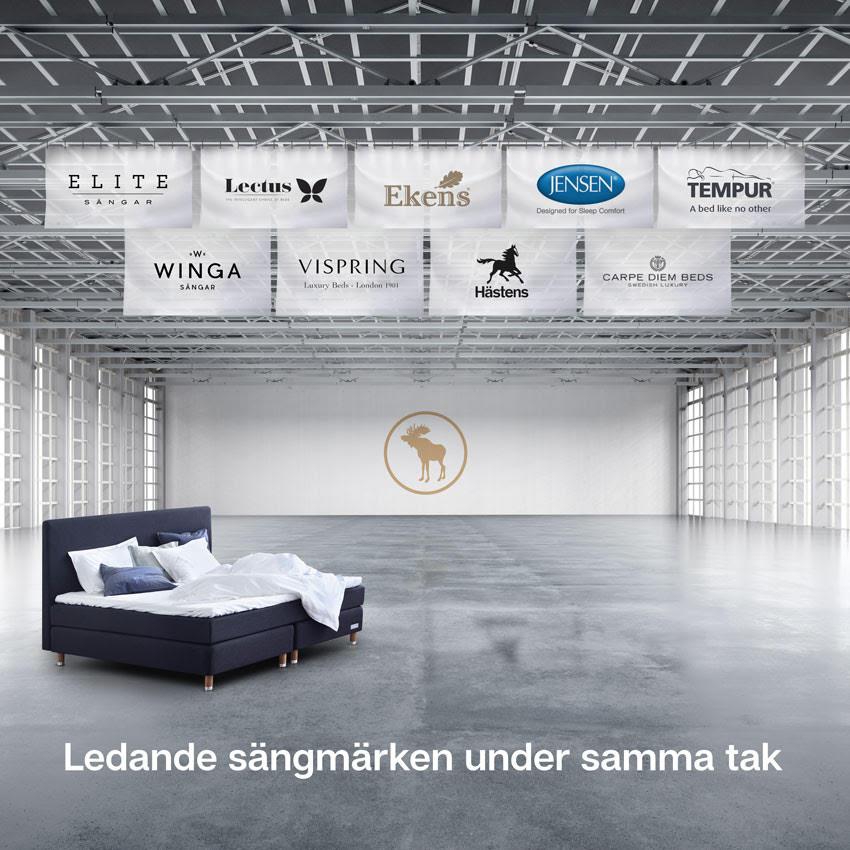 Köp din nya säng online hos Sängvaruhuset Elgen!